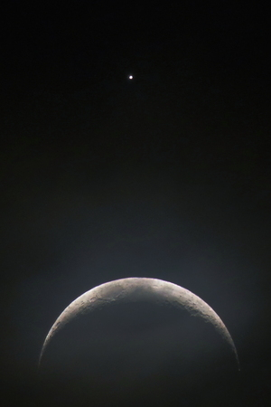 Moon- Venus Encounter