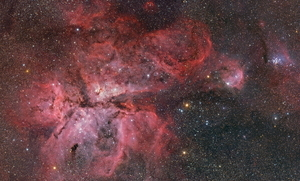 Carina Panorama: From Keyhole to Gem
