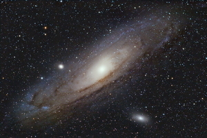 Andromeda Galaxy from the Southern Hemishpere (Messier 31)