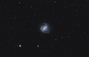 Southern Pinwheel Galaxy (Messier 83) from the suburbs