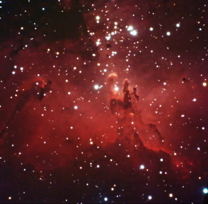 Pillars of Creation in Eagle Nebula - M16
