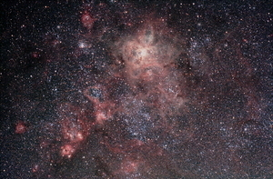 Tarantula Nebula from rural skies