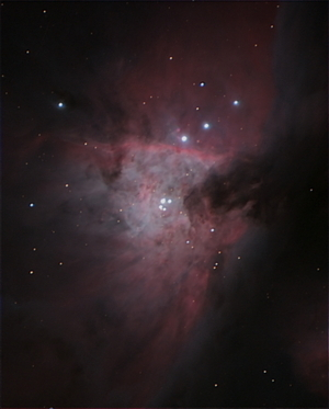 Trapezium Region in M42