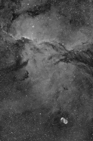 NGC 6188 & 6164 in H-alpha light