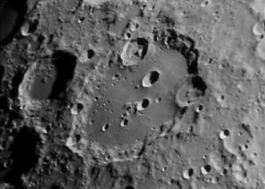 Clavius close-up