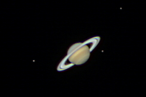 Saturn in Opposition 2012