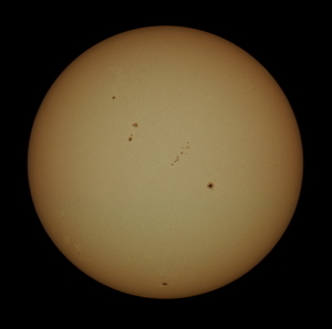 An Active Sun near solar maximum