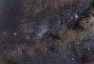 Galactic Center from the suburbs