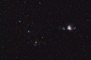 Orion Region from the suburbs