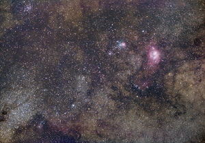 Sagittarius Region from the suburbs